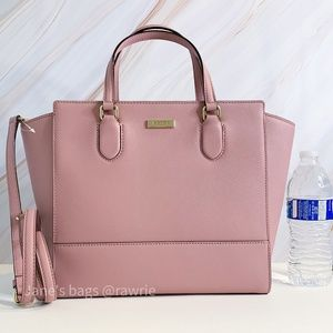 New Kate Spade Large Hadlee Leather Satchel
